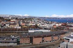 纳尔维克,挪威天旅行 免版税图库摄影