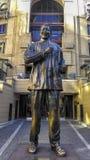 纳尔逊・曼德拉雕象在南非 免版税库存图片