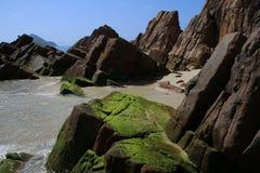 纳尔逊海湾岩石 免版税库存图片