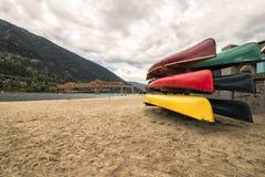 纳尔逊海滩 免版税图库摄影