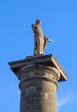 纳尔逊的专栏在蒙特利尔加拿大,纪念碑在1809年架设的在地方雅克・卡蒂埃 库存图片