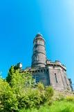 纳尔逊纪念碑在爱丁堡 图库摄影