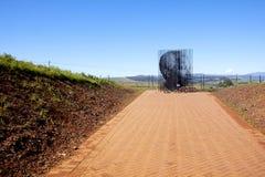 纳尔逊・曼德拉拘捕站点在Howick,夸祖鲁纳塔尔 免版税图库摄影