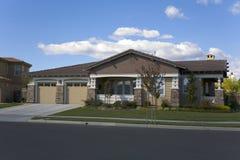 纳帕县,加州自定义家 免版税库存照片