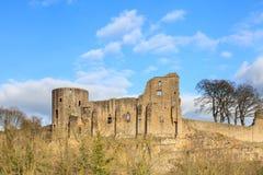巴纳德城堡 库存照片