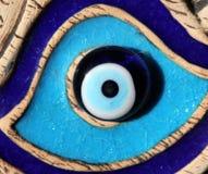 纳扎boncuk凶眼-著名土耳其护身符 库存图片
