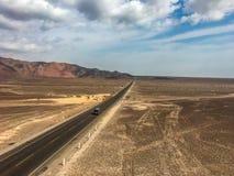 纳斯卡沙漠秘鲁的 免版税库存照片