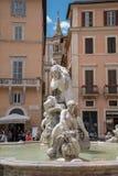 纳沃纳广场-罗马意大利2 库存照片