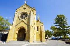 纳沙泰尔,瑞士牧师会主持的教堂  库存图片