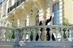 纳瓦拉延命菊类似的妇女,法国的女王/王后 免版税库存图片