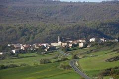 纳瓦拉-西班牙的镇 库存照片