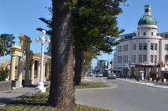 纳皮尔-新西兰 免版税库存照片