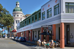 纳皮尔-新西兰 库存照片