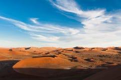 纳米比亚沙漠 库存图片