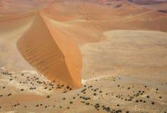 纳米比亚沙漠 图库摄影
