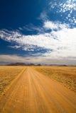纳米比亚路 免版税图库摄影