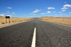 纳米比亚路 免版税库存照片
