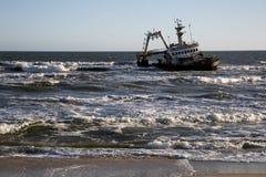 纳米比亚,最基本的海岸 库存图片