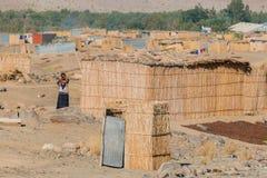 纳米比亚-奥兰治河 图库摄影
