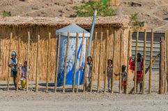 纳米比亚-奥兰治河 库存图片