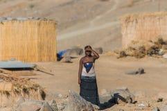 纳米比亚-奥兰治河 免版税库存图片