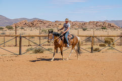 纳米比亚-纳米比亚沙漠 库存图片