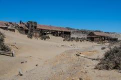 纳米比亚-金刚石地区- Sperrgebiet 免版税库存图片