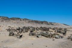 纳米比亚-金刚石地区- Sperrgebiet 图库摄影