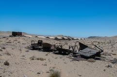 纳米比亚-金刚石地区- Sperrgebiet 库存照片