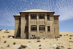 纳米比亚kolmanskop房子 免版税库存照片