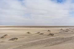 纳米贝省沙漠,非洲的沙丘 安格斯 图库摄影