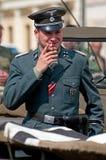 纳粹战士 免版税库存照片