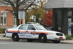 纳苏郡警察局汽车 免版税图库摄影