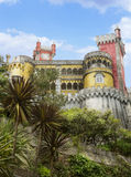 贝纳葡萄牙国民宫殿。 免版税库存照片
