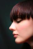 纵向性感的妇女年轻人 库存照片