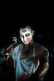 纵向zombi 免版税库存照片