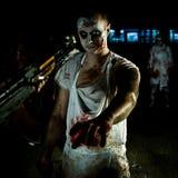 纵向zombi 库存照片