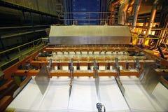纸工厂 库存照片