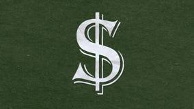 纸保险开关标志美元的符号信件动画片手工制造动画无缝的圈背景 新的质量普遍性 库存例证