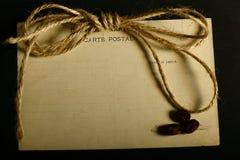 纸信件 免版税图库摄影