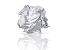 纸卷废物 免版税库存照片