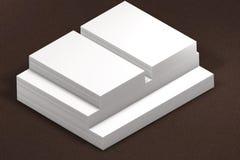纸叠 对介绍的模板 免版税库存图片