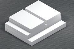 纸叠 对介绍的模板 免版税库存照片