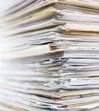 纸回收 免版税库存照片
