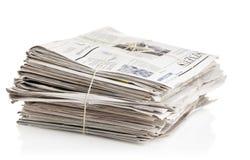 纸回收 免版税库存图片