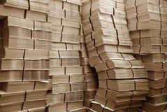 纸堆 免版税库存图片