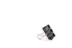 纸夹、重要文具和办公室辅助部件 免版税库存照片