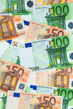 纸币的累计 免版税图库摄影