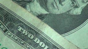 纸币,票据,货币,美利坚合众国 股票录像