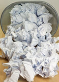 纸废物 免版税图库摄影